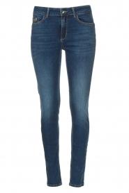 Liu Jo Denim |  Skinny stretch jeans Kimberly | blue  | Picture 1