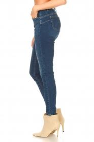 Liu Jo Denim |  Skinny stretch jeans Kimberly | blue  | Picture 5
