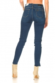 Liu Jo Denim |  Skinny stretch jeans Kimberly | blue  | Picture 6