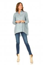 Liu Jo Denim |  Skinny stretch jeans Kimberly | blue  | Picture 3