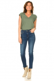 Liu Jo Denim |  Skinny stretch jeans Kimberly | blue  | Picture 2