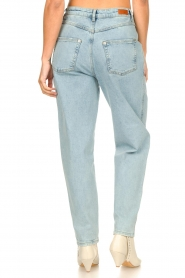 Set | High waist broek Ruby | blauw   | Afbeelding 9