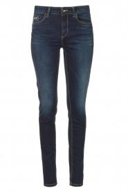 Liu Jo Denim |  Skinny stretch jeans Kimberly | dark blue  | Picture 1
