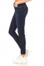 Liu Jo Denim |  Skinny stretch jeans Kimberly | dark blue  | Picture 6