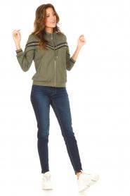 Liu Jo Denim |  Skinny stretch jeans Kimberly | dark blue  | Picture 2