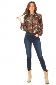 Liu Jo Denim |  Skinny stretch jeans Kimberly | dark blue  | Picture 3