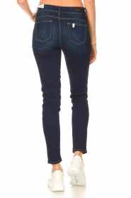 Liu Jo Denim |  Skinny stretch jeans Kimberly | dark blue  | Picture 7