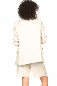 Set |  Linen short Riley | beige  | Picture 7