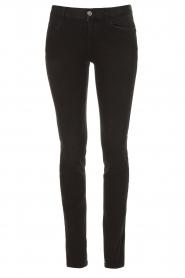 Liu Jo Denim |  Super stretch skinny jeans Kristen | black  | Picture 1