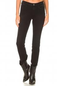 Liu Jo Denim |  Super stretch skinny jeans Kristen | black  | Picture 5