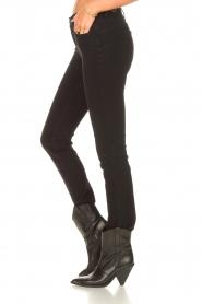 Liu Jo Denim |  Super stretch skinny jeans Kristen | black  | Picture 6