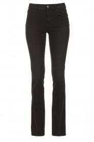 Liu Jo Denim |  Stretch bootcut jeans Iya | black  | Picture 1