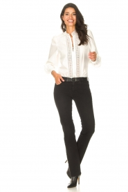 Liu Jo Denim |  Stretch bootcut jeans Iya | black  | Picture 5