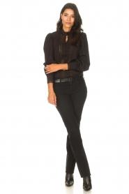 Liu Jo Denim |  Stretch bootcut jeans Iya | black  | Picture 3