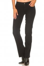 Liu Jo Denim |  Stretch bootcut jeans Iya | black  | Picture 6