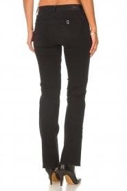 Liu Jo Denim |  Stretch bootcut jeans Iya | black  | Picture 8