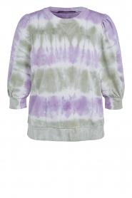 Set |  Cotton Tie dye sweatshirt Romy | multi  | Picture 1
