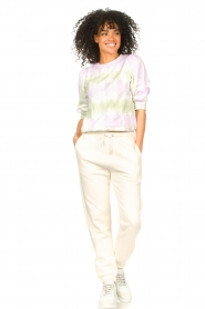 Set |  Cotton Tie dye sweatshirt Romy | multi  | Picture 4
