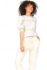 Set |  Cotton Tie dye sweatshirt Romy | multi  | Picture 5