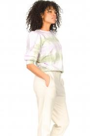 Set |  Cotton Tie dye sweatshirt Romy | multi  | Picture 6