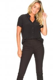 Set |  Shirt blouse Izzy | black  | Picture 4