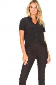 Set |  Shirt blouse Izzy | black  | Picture 2