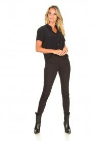 Set |  Shirt blouse Izzy | black  | Picture 3