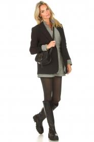 Nubikk |  High leather boots Fara Zip | black  | Picture 2
