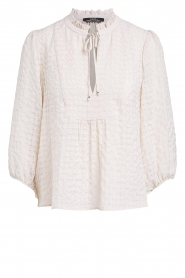 Set |  Blouse with crêpe effect Ronja | natural  | Picture 1