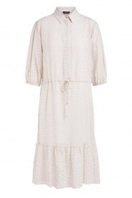 Set |  Midi dress with crepe effect Rosa | natural  | Picture 1