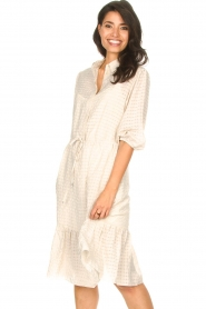 Set |  Midi dress with crepe effect Rosa | natural  | Picture 2