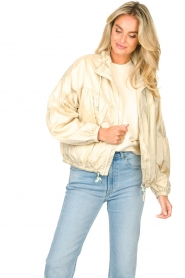 Set |  Coat with drawstring Roxy | beige   | Picture 4