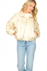 Set |  Coat with drawstring Roxy | beige   | Picture 8