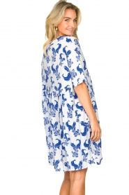 Genesis |  Dress with print Ema | white  | Picture 6