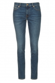 7 For All Mankind | Skinny jeans Roxanne | donkerblauw  | Afbeelding 1
