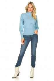 7 For All Mankind | Skinny jeans Roxanne | donkerblauw  | Afbeelding 2