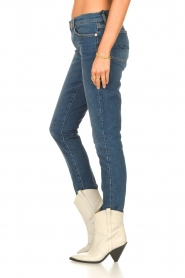 7 For All Mankind | Skinny jeans Roxanne | donkerblauw  | Afbeelding 6
