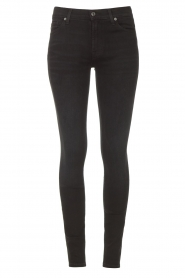 7 For All Mankind |  High waist skinny jeans Slim Illusion | black  | Picture 1