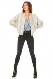 7 For All Mankind |  High waist skinny jeans Slim Illusion | black  | Picture 4