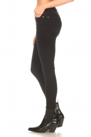 7 For All Mankind |  High waist skinny jeans Slim Illusion | black  | Picture 6