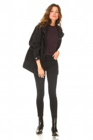 7 For All Mankind |  High waist skinny jeans Slim Illusion | black  | Picture 3