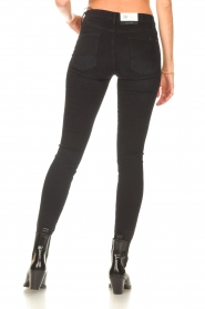 7 For All Mankind |  High waist skinny jeans Slim Illusion | black  | Picture 7