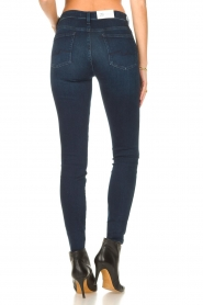7 For All Mankind |  High waist skinny jeans Slim Illusion | dark blue  | Picture 6