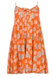 Genesis |  Dress with floral print Julia | red  | Picture 1