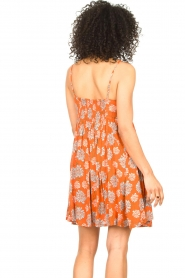 Genesis |  Dress with floral print Julia | red  | Picture 6