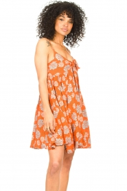 Genesis |  Dress with floral print Julia | red  | Picture 4