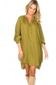 Genesis |  Tunic dress Sofia | green  | Picture 5