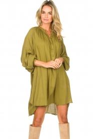 Genesis |  Tunic dress Sofia | green  | Picture 2