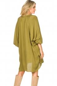 Genesis |  Tunic dress Sofia | green  | Picture 7