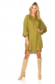 Genesis |  Tunic dress Sofia | green  | Picture 3